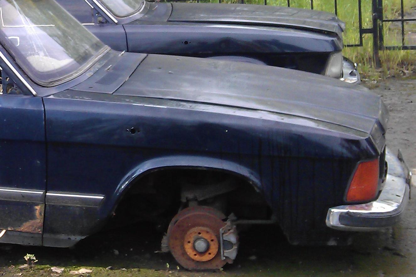 """Утилизация автомобиля """"Волга"""" ГАЗ-3102"""